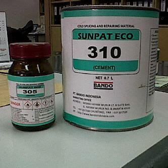 Lem Karet Conveyor Sunpat Eco lem untuk penyambungan belt sunpat eco 310 hardener 305