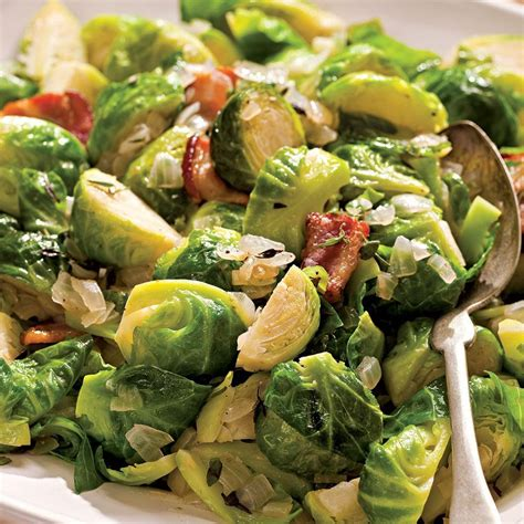 Green Kitchen Ideas by Sauteed Brussels Sprouts With Bacon Amp Onions Recipe