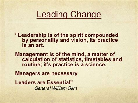 kotter quote on change management leading changes quotes