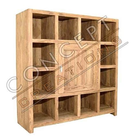 Wooden Racks For Books by Wooden 1 Door Book Rack View Specifications Details Of