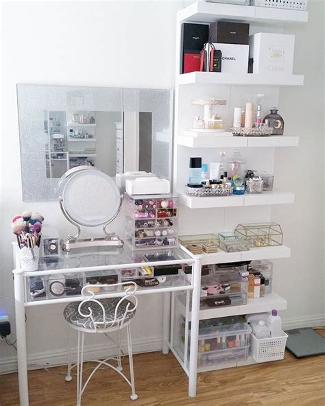 makeup vanity ideas for bedroom 25 best ideas about vanity table organization on