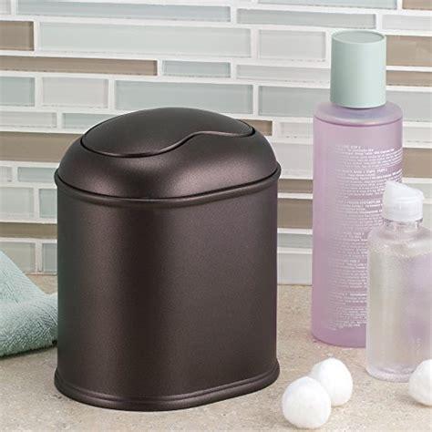 york vanity countertop waste basket trash can bin luxury