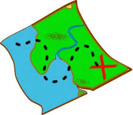 map clipart treasure map ocal diff colours clip at clker