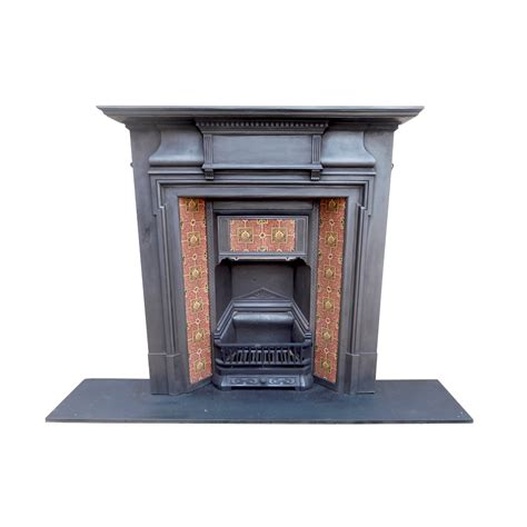 combination fireplace with tiled canopy buy from vfs