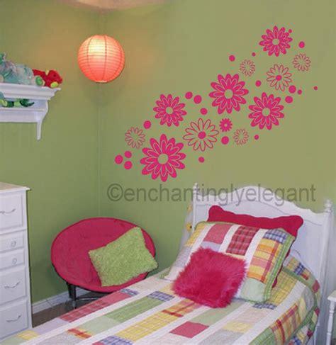 wall decals for teenage girls bedroom large flowers vinyl decal wall sticker teen girl room