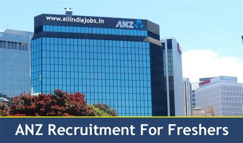 Opportunities In Bangalore For Mba Finance Freshers by Anz Support Services Recruitment 2018 2019 Openings