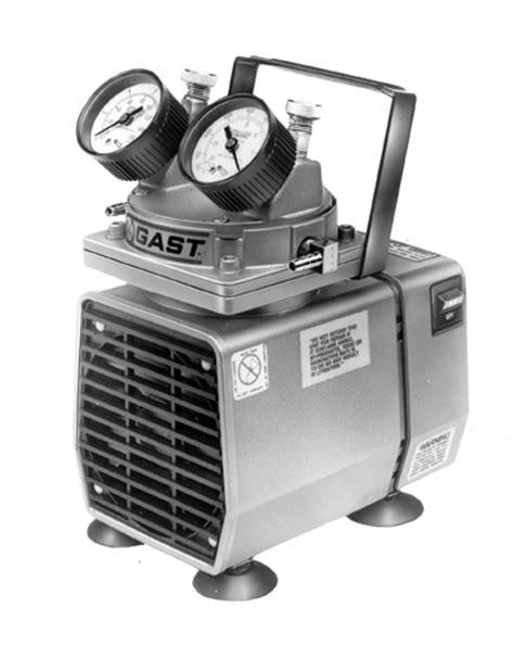 Gast Doa P504 Bn Doa Oilless Diaphragm Vacuum Untuk Lab gast vacuum pressure instruments vacuum