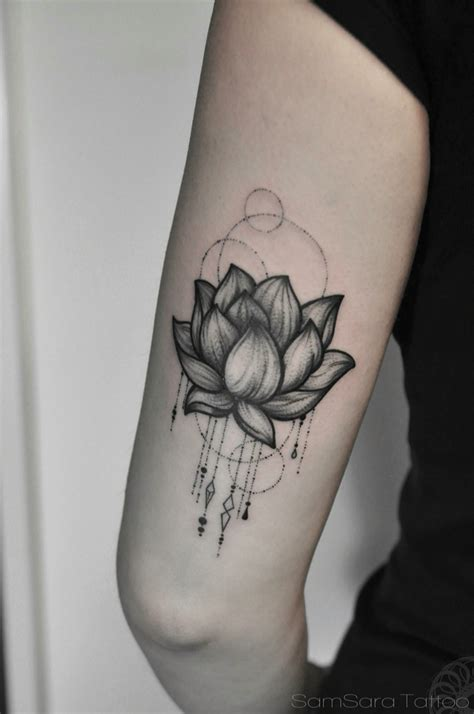 lotus tattoo elbow lotus tattoo images designs