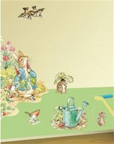 beatrix potter wall stickers beatrix potter wallies wall decals and wallpaper borders