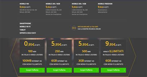 fastweb offerta mobile promozioni fastweb mobile 2017 con wow fi cellulare magazine