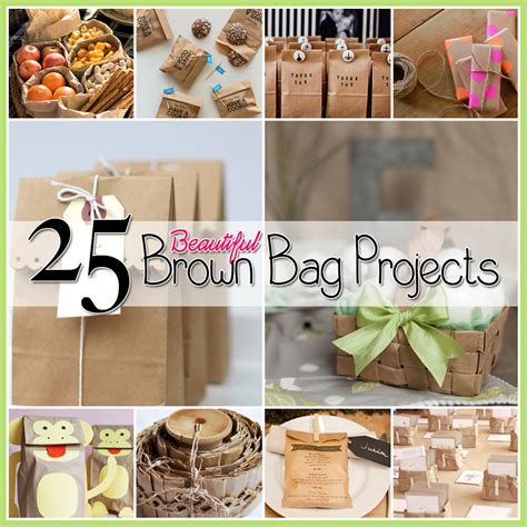 Paper Bag Crafts For Adults - 25 brown bag crafts create and recycle the cottage market