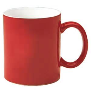 Yellow And Gray Kitchen - 11 oz c handle coffee mug red out 10304 splendids