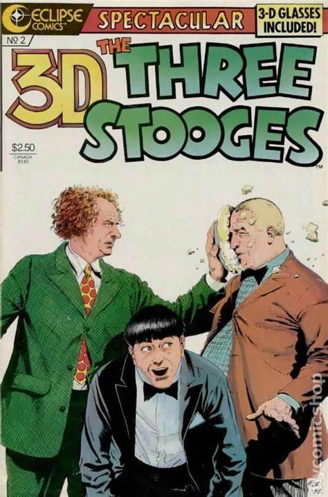 all three stooges books 3 d three stooges 1986 comic books