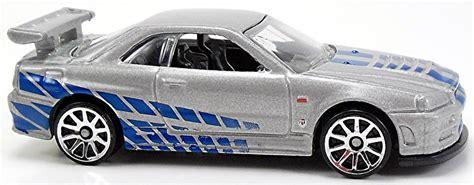 Wheels Hw Nissan Skyline Gt R R34 Fast Furious Fnf Hotwheels 2014 fast furious international release wheels newsletter