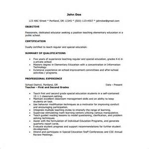 Resume After Template Tutor Resume Template 11 Free Word Excel Pdf Format Free Premium Templates