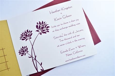 wedding invitations with perforated postcard response cards unique custom wedding invitations tri fold card with