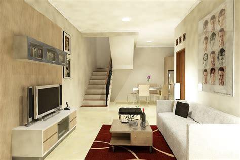 desain ruang tv minimalis  nyaman dinerbacklot
