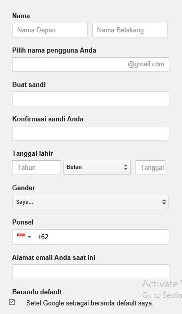 Cara Mudah Buat Email dengan Gmail Terbaru ~ Berbagi Tips