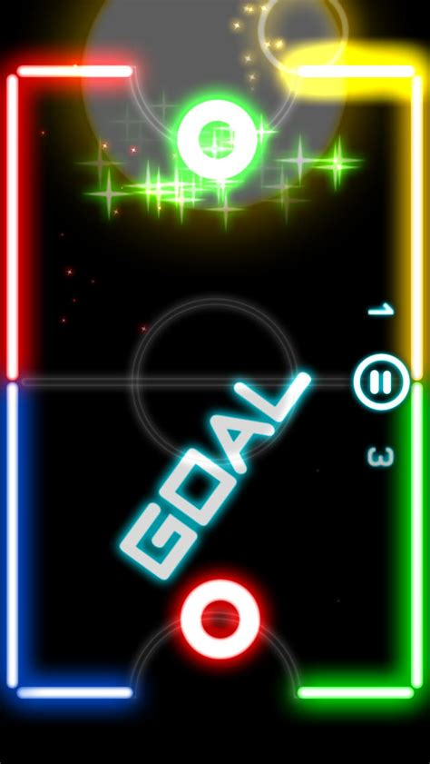 glow hockey 2 free app android apk - Glow Hockey 2 Apk