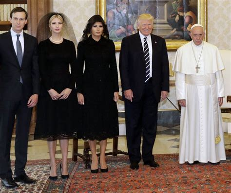 trump pope francis trump to pope francis after vatican meeting i won t