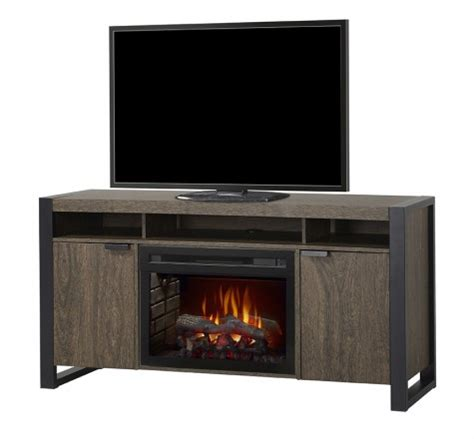 60 5 quot electric fireplace tv stand with logset in