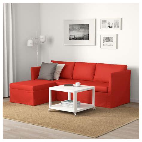 ikea sofa orange br 197 thult corner sofa 3 seat vissle red orange ikea