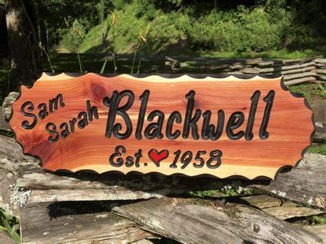 sam sarah wood sign wood signs  gatlinburg