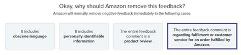 remove negative feedback amazon fba 2 tested ways to remove negative feedback on amazon