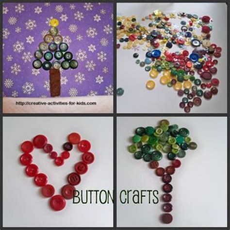 crafts with buttons for button crafts
