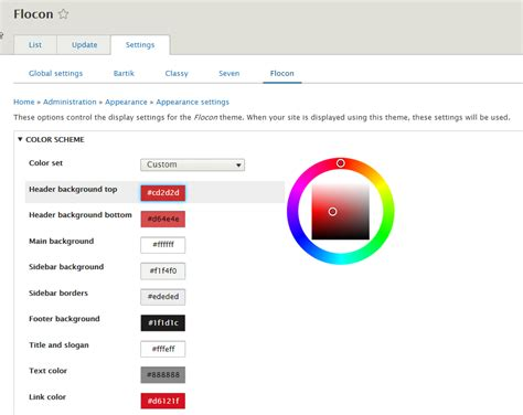 drupal theme dependencies drupal 8 mettez des couleurs dans votre th 232 me flocon