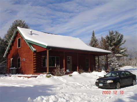 Ski Cabin Rentals by Adirondack Winter Ski Vacaton Cabin Rental