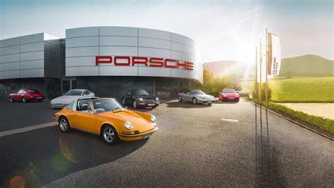 porsche dealership first porsche centre for classic cars