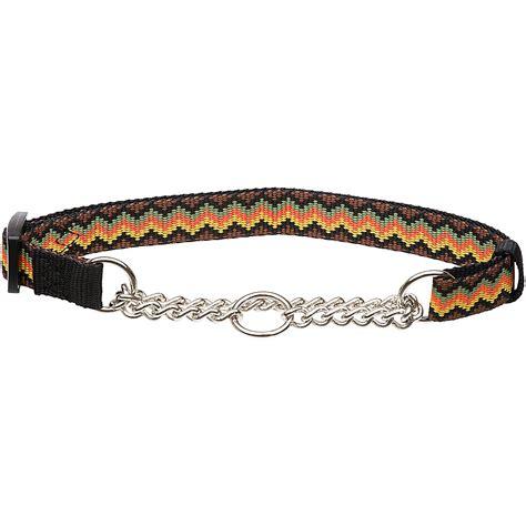 zig zag pattern on dog hamilton zigzag pattern martingale dog collar petco