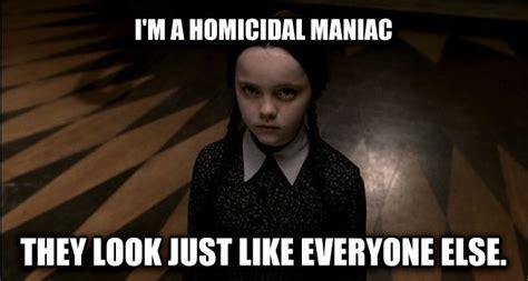 Wednesday Addams Meme - livememe com wednesday addams
