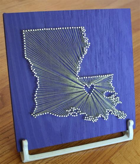 State Nail String - louisiana reclaimed wood nail and string