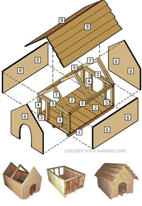build a simple dog house 25 best ideas about dog houses on pinterest pet houses