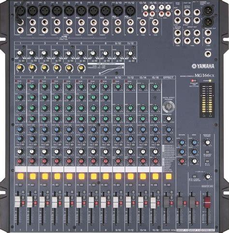 Mixer Yamaha Mg 06x Original 6 Ch yamaha mg 16 6 cx