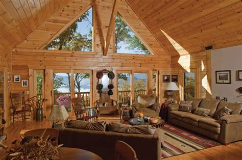 A Frame Home Interiors Livin Lovin Log Homes Blueridgecountry