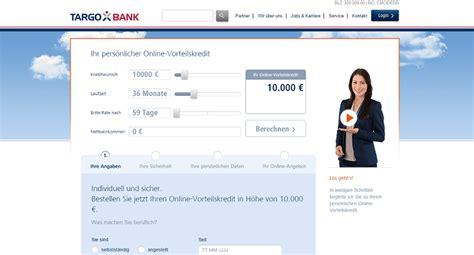 kondition kredit test targobank kredit zinsen konditionen erfahrungen