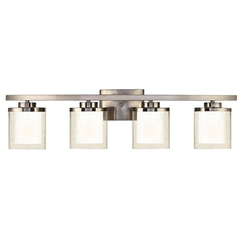 Modern Bathroom Light Shades Modern Bathroom Light With Clear Seedy And White Glass