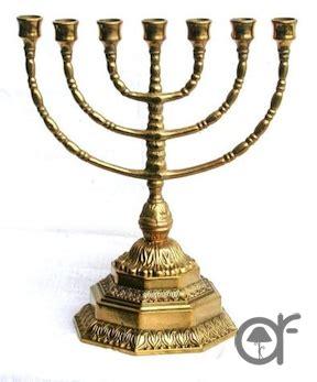 candeliere ebraico il meglio di potere candelabro ebraico a 7 braccia