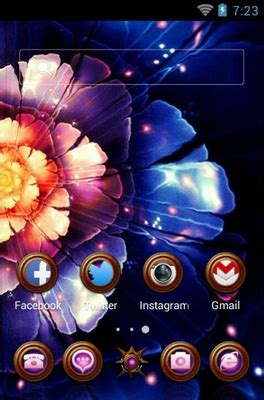 Themes For Android Flowers | flowers android theme for clauncher androidlooks com