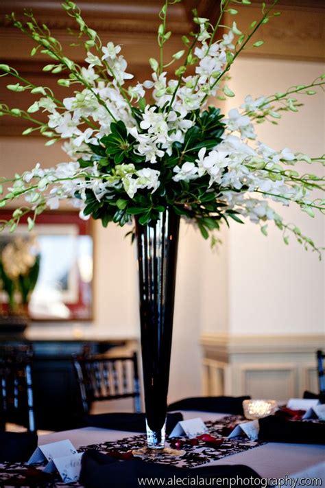 Vase Arrangements Wedding by Best 25 Trumpet Vase Centerpiece Ideas On
