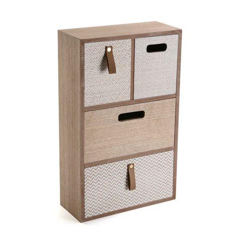 boite a tiroir en bois versa bo 238 te 224 bijoux 4 tiroirs bois gris boite 224 bijoux