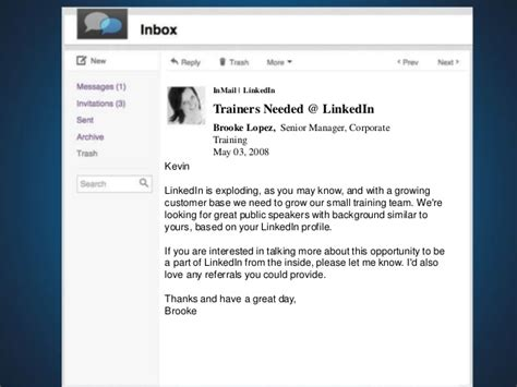 linkedin inmail templates for recruiters inmails the the bad and the