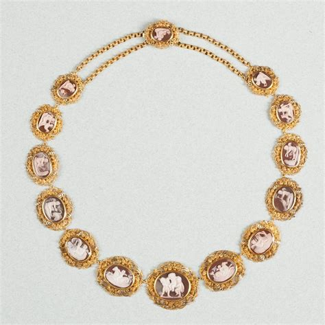 ist dibs shell cameos antique georgian regency sardonyx cameo gold necklace for sale at 1stdibs