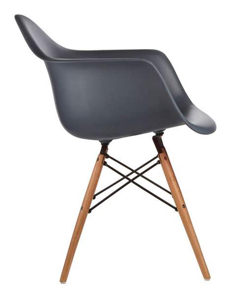 Molded Plastic Armchair by Molded Plastic Armchair Dowel Legs 16 Colors