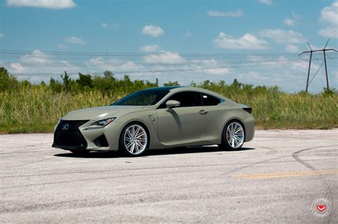 lexus rcf white army green lexus rc f white gs f pose on custom rims 49