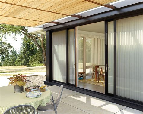Sliding Glass Door Privacy Door Shades Enjoy Your Patio