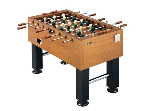 foosball table setup decorative table decoration